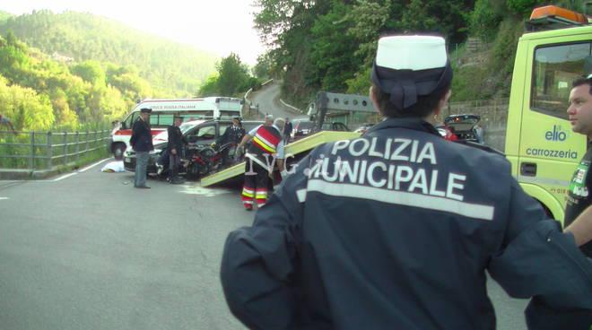 Incidente mortale a Quiliano
