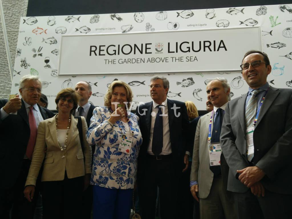Le immagini del padiglione della Liguria a Expo 2015