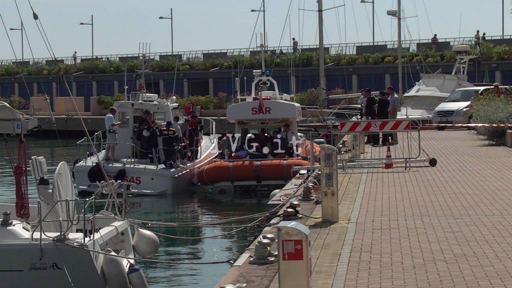 Loano, cadavere di una donna recuperato in mare
