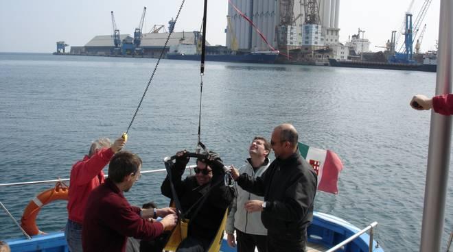 motobarca lega navale disabili