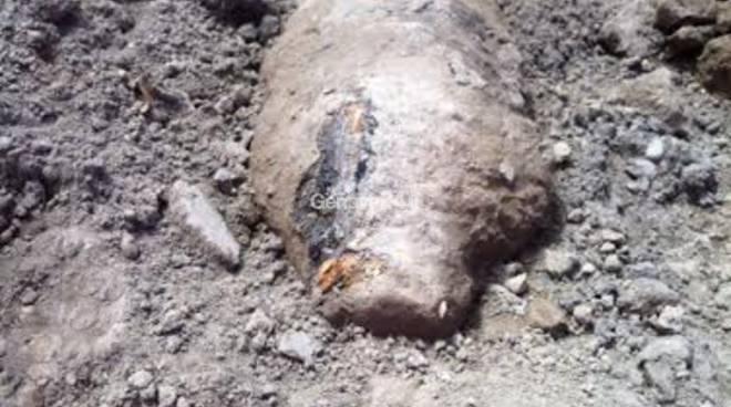 Nuova bomba a Calata Bettolo