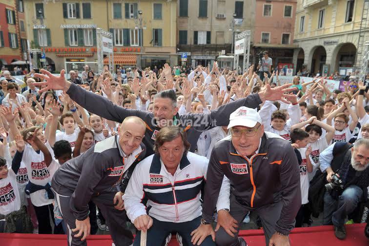 Panatta, Andrea Lucchetta, Ciccio Graziani e Jury Chechi