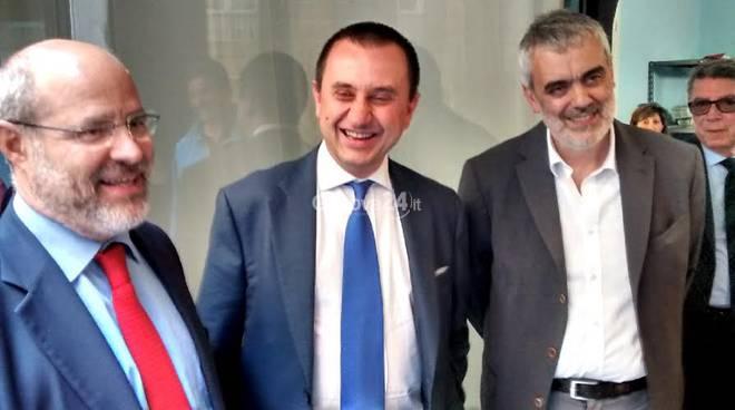 Pippo Rossetti, Ettore Rosato e Vito Vattuone