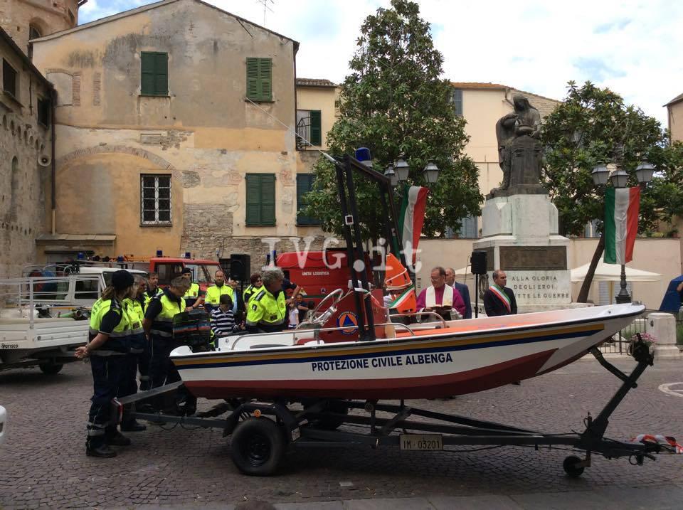 protezione civile motoscafo