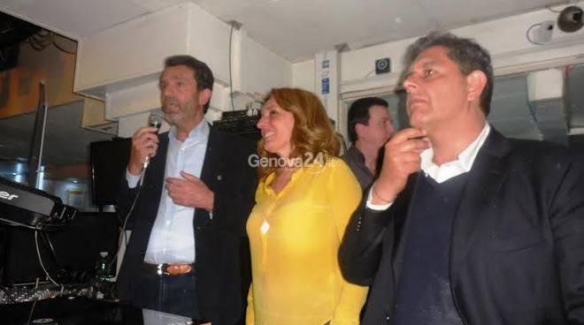Sandro Biasotti, Lilli Lauro e Giovanni toti