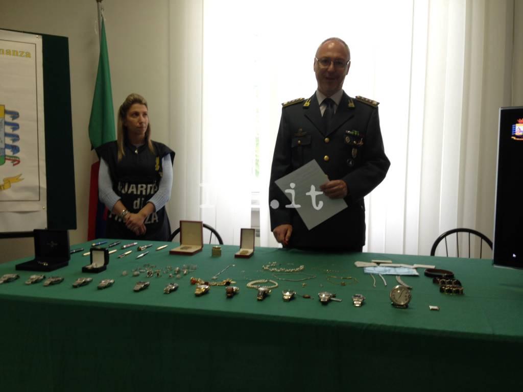 Savona, 250 mila euro di refurtiva recuperati dalla Finanza