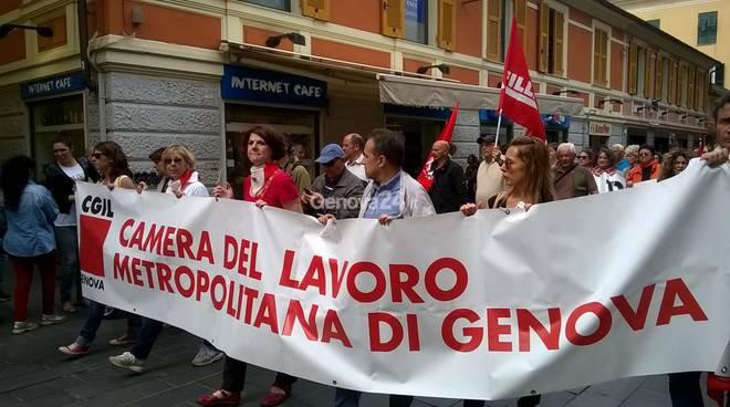 sciopero generale genova
