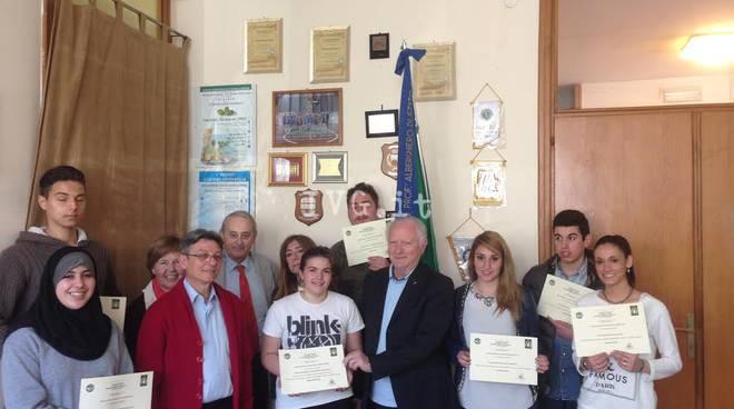 studenti alberghiero alassio premio massoneria