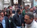 Toti e Salvini a Genova