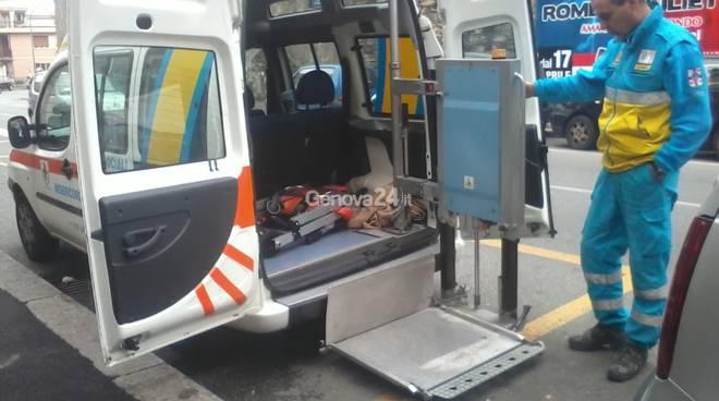 trasporto disabili ponente soccorso