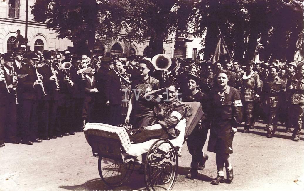 Liberazione Partigiani Torino Adriana Colla