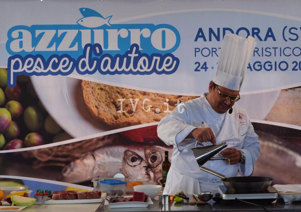 Andora Azzurro pesce d'autore