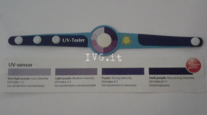 Rilevatore Raggi Ultravioletti