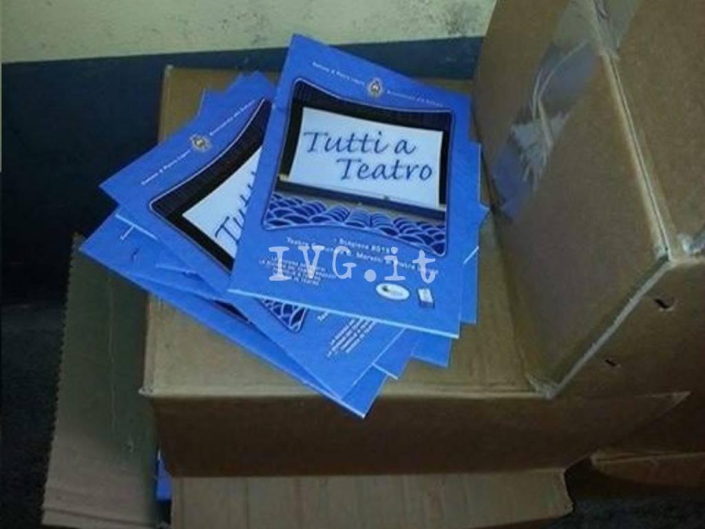 Canciani Volantini Gettati Brochure Teatro