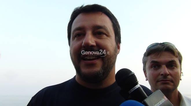 Referendum, Salvini in Liguria: