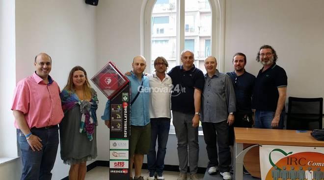 Defibrillatore donato al Comune di Rapallo