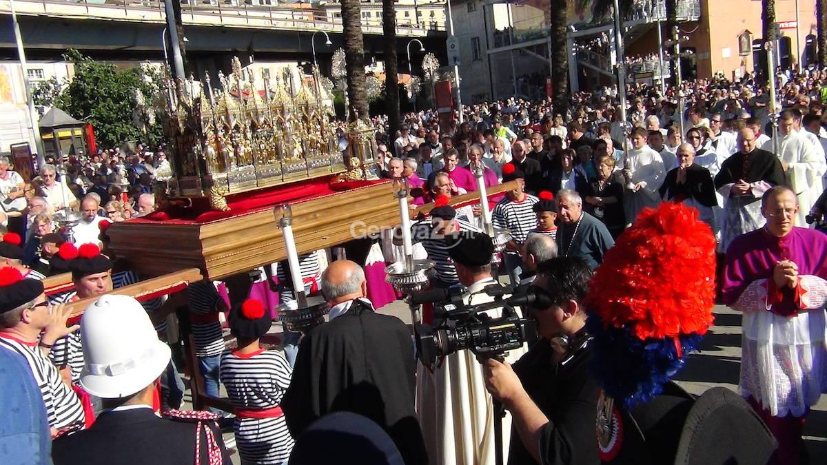 Genova, la processione per San Giovanni