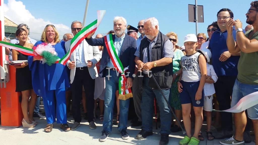 Il nuovo porto turistico di Borghetto