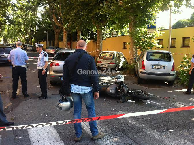 Incidente mortale in via Righetti