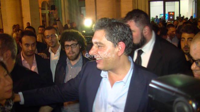 La notte delle elezioni, la vittoria di Giovanni Toti