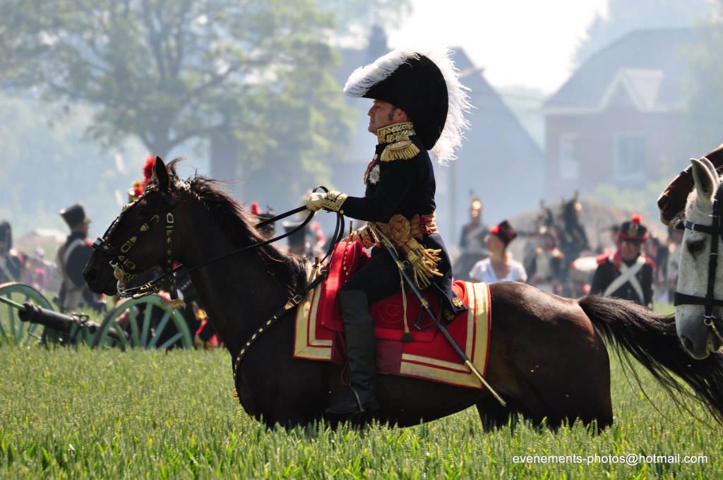 Loano, Andrea Puleo generale francese nella rievocazione della battaglia di Waterloo