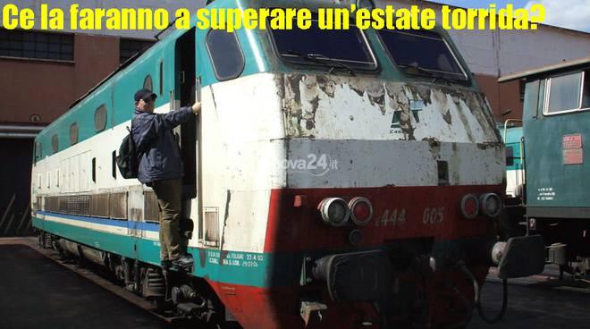 Locomotore del treno