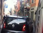 """Parcheggio """"creativo"""" a Sestri Ponente"""