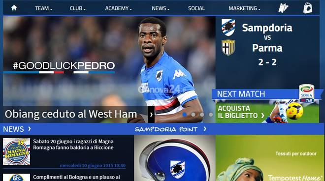 pedro obiang sampdoria