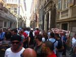 protesta lavoratori partecipate