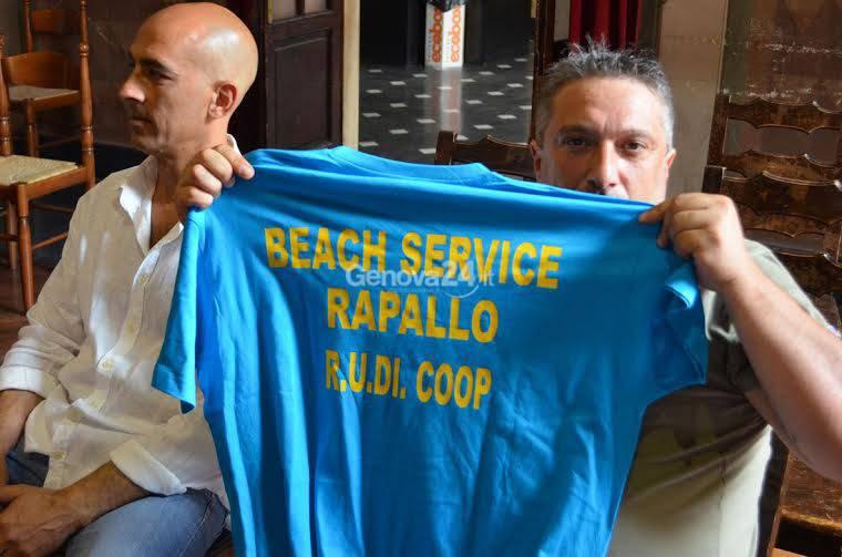 Pulizia spiagge libere a Rapallo