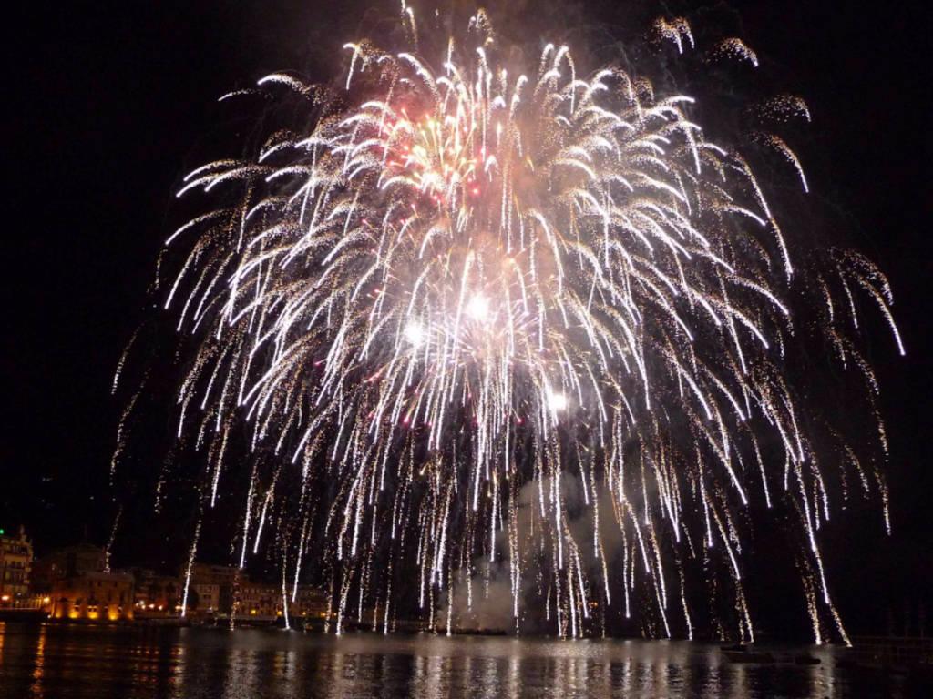 rapallo fuochi d'artificio