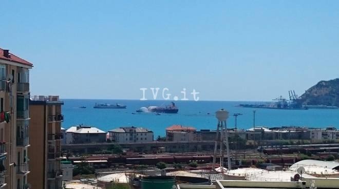 Savona, esercitazione antinquinamento in porto