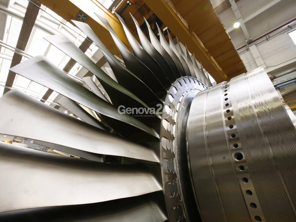 turbina a vapore ansaldo energia