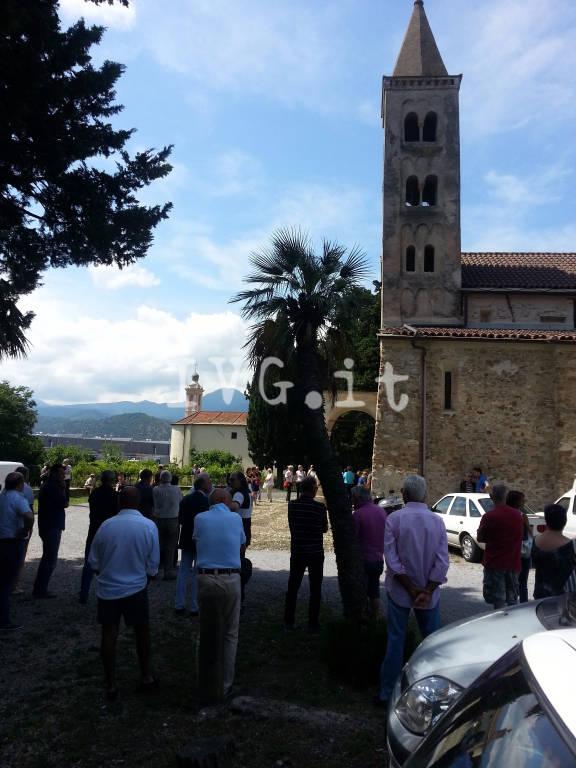Villanova, i funerali di Marisa Siffredi