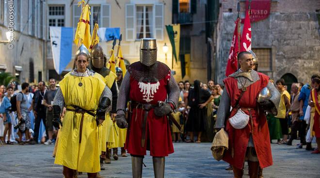 Albenga, Palio dei Rioni: la giornata conclusiva
