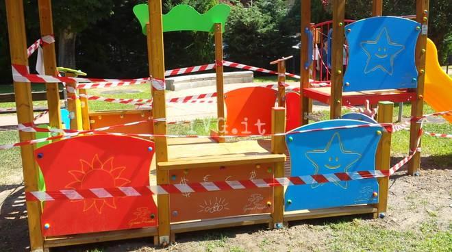 Borghetto, installato a Parco Collodi il secondo gioco per bimbi disabili