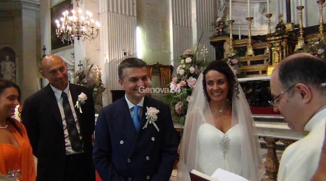 Carignano, il matrimonio di Edoardo Rixi