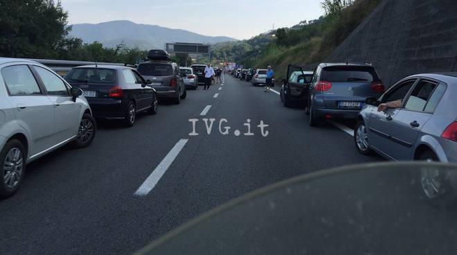 coda autostrada a10