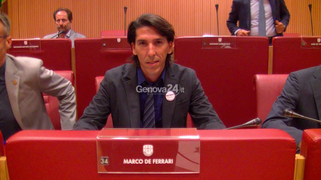 Marco De Ferrari, M5S