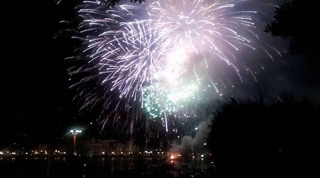 Fuochi d'artificio a Rapallo