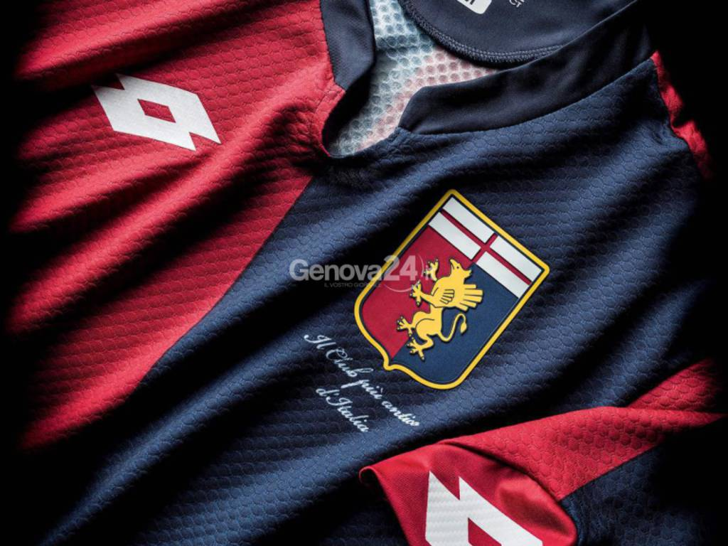 Genoa nuova maglia casa 2015-2016