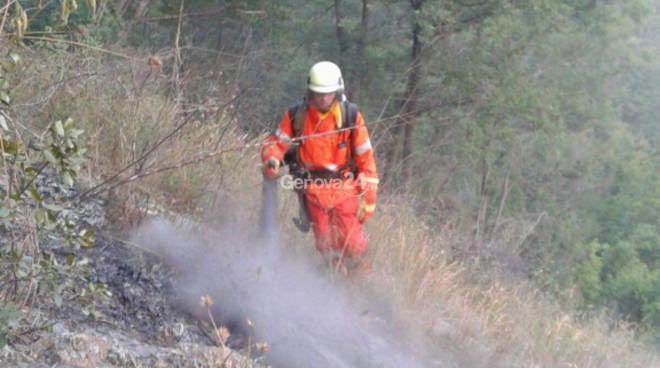 Incendio ad Avegno