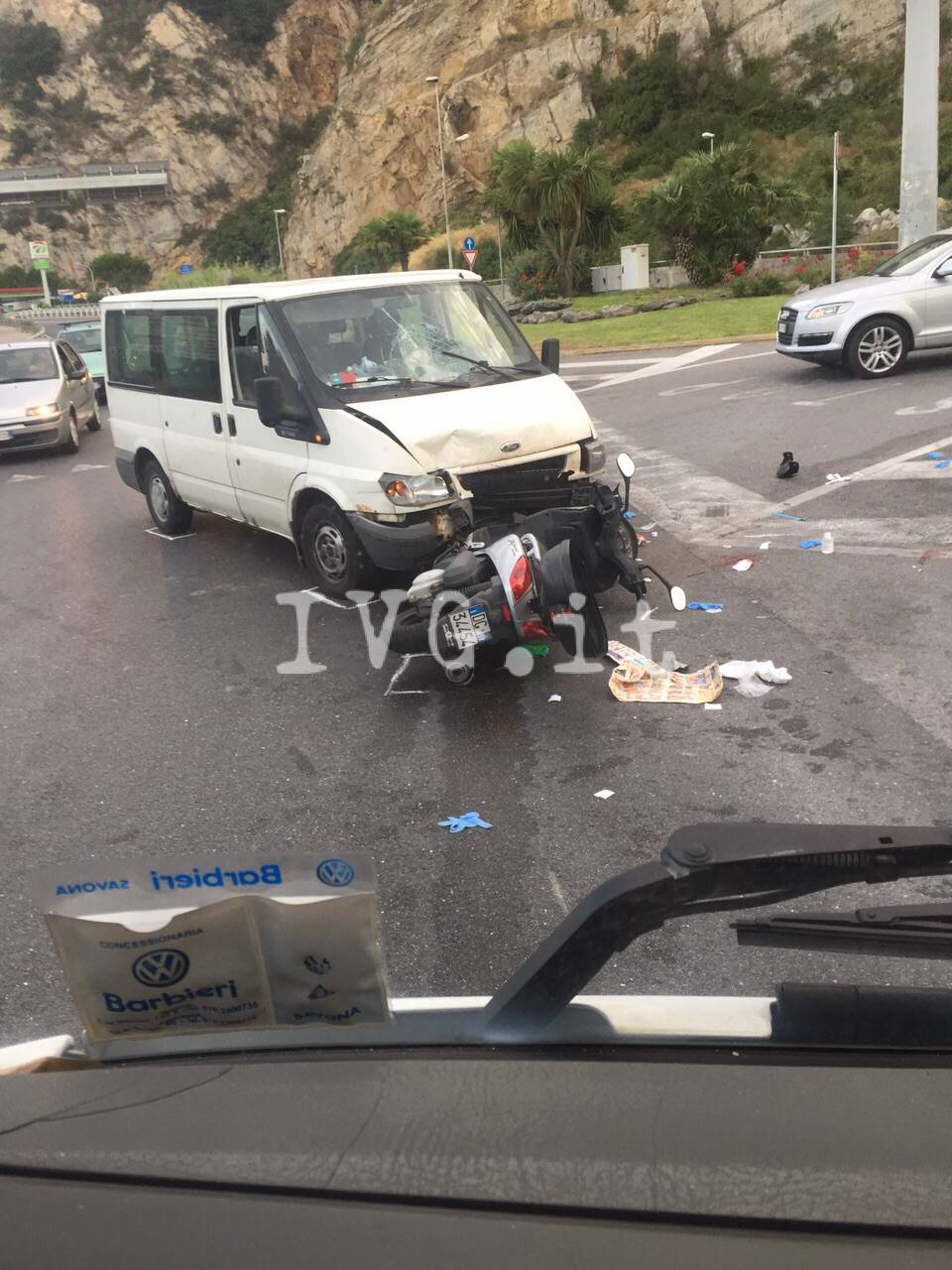 incidente finale ligure