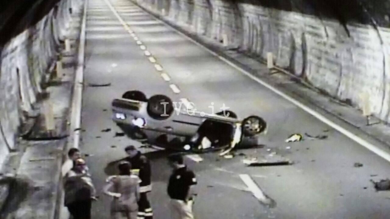 Incidente sulla A10 tra Finale e Feglino