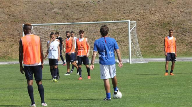 Le immagini dal ritiro del Savona Calcio