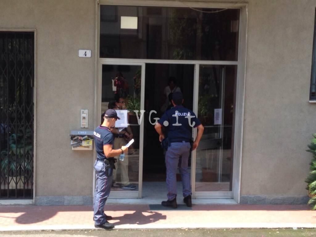 Omicidio a Savona in via privata Sambolino