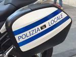Presentazione delle nuove moto della polizia locale di Savona