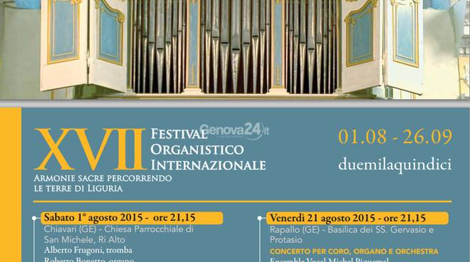 rapallo festival organistico internazionale