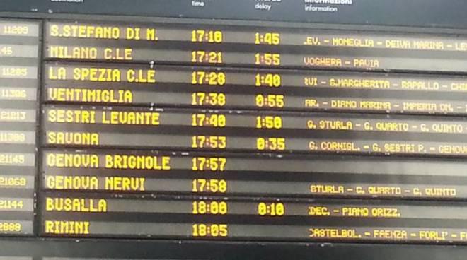 ritardi treni