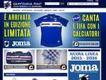 sampdoria maglia incoraggia tifosi